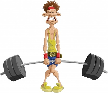 Image result for funny man lifting heavy weight